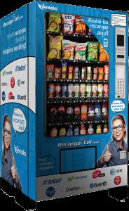 Recarga en maquinas vending